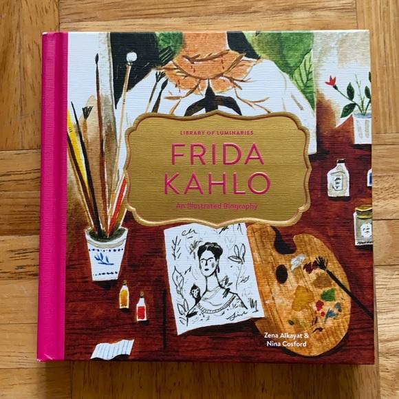 Frida Kahlo Illustrated Hardcover Book